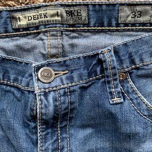 Men's BKE denim shorts